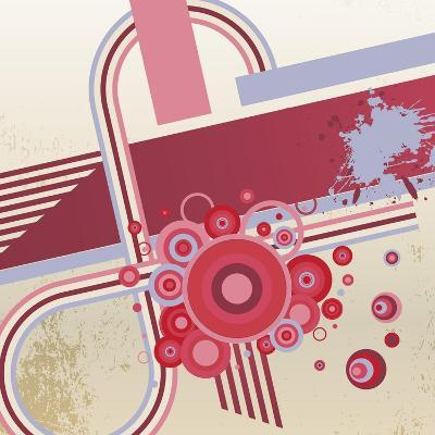 Grunge Vector Abstract Background.- storoch-Art Print