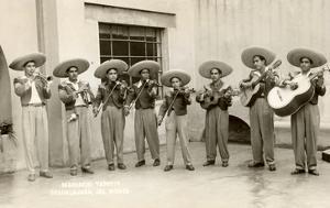 Guadalajaran Mariachis, Mexico