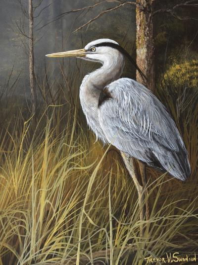 Guard at Water's Edge-Trevor V. Swanson-Giclee Print