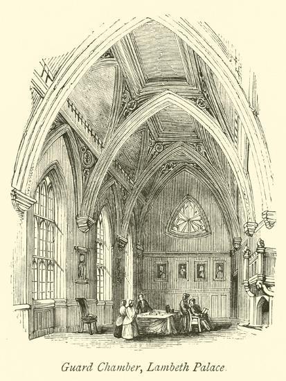 Guard Chamber, Lambeth Palace--Giclee Print