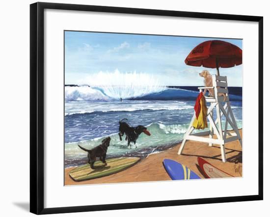 Guard Dogs-Scott Westmoreland-Framed Art Print