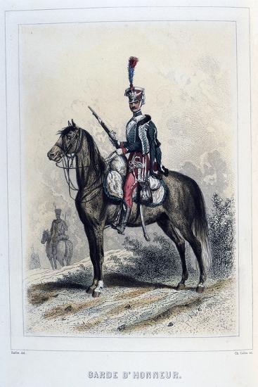 Guard of Honour, 1859-Auguste Raffet-Giclee Print