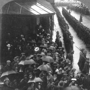 Guard of Honour at City Hall, South Africa, World War I, C1914-C1918
