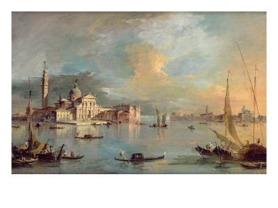 San Giorgio Maggiore, Venice, with the Giudecca and Zitelle