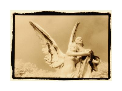 Guardian Angel, Luxembourg Gardens, Paris-Theo Westenberger-Photographic Print