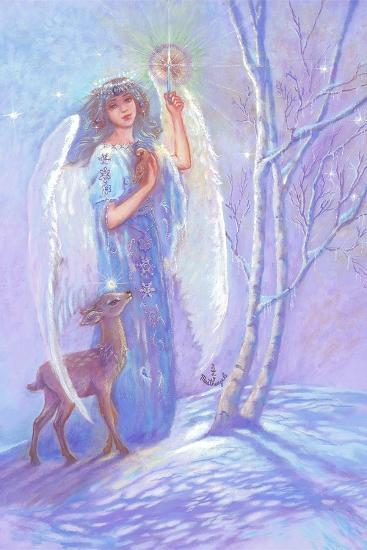 Guardian Angel of Winter-Judy Mastrangelo-Giclee Print