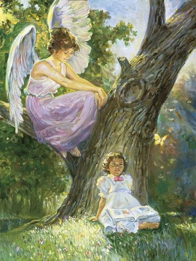 Guardian Angel-Hal Frenck-Giclee Print