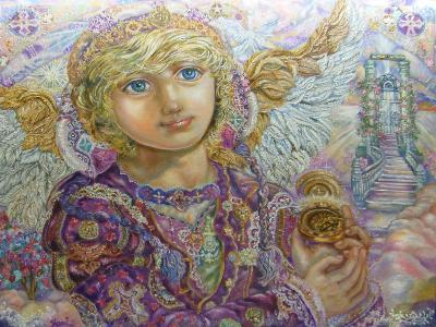 Guardian Angel-Yumi Sugai-Giclee Print