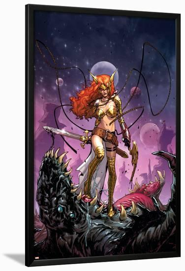 Guardians of the Galaxy #6 Cover: Angela-Sara Pichelli-Lamina Framed Poster