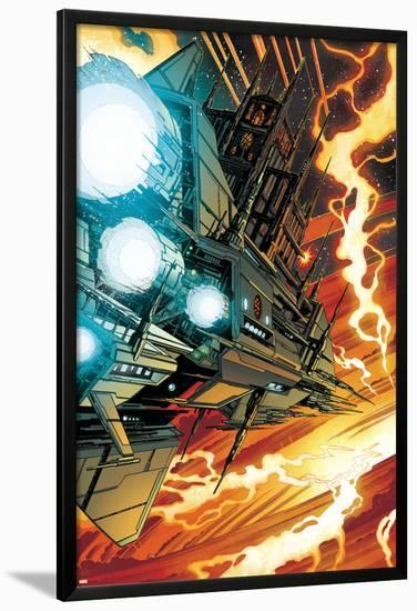 Guardians Of The Galaxy No.1: Marvel Universe-Paul Pelletier-Lamina Framed Poster