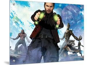Guardians of the Galaxy - Star-Lord, Rocket Raccoon, Groot, Drax, Gamora