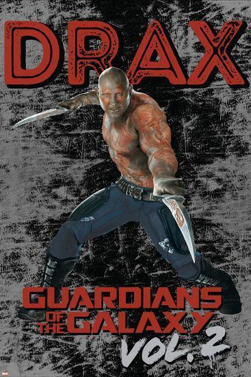 Guardians of the Galaxy: Vol. 2 - Drax--Art Print