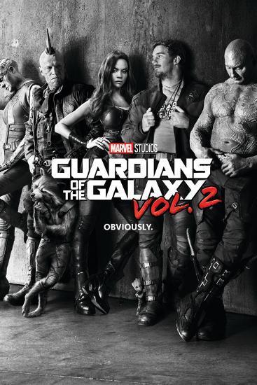 Guardians of the Galaxy: Vol. 2 - Gamora, Drax, the Milano, Star-Lord, Rocket Raccoon, Groot--Poster