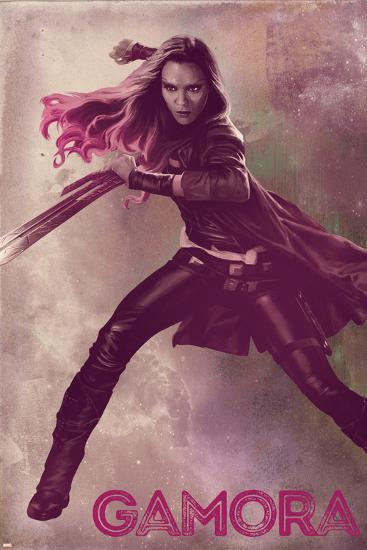 Guardians of the Galaxy: Vol. 2 - Gamora--Art Print