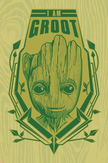 Guardians of the Galaxy: Vol. 2 - I Am Groot--Art Print