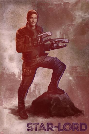 Guardians of the Galaxy: Vol. 2 - Peter Quill--Art Print