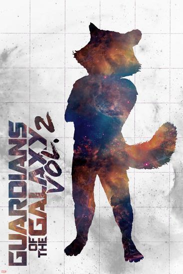 Guardians of the Galaxy: Vol. 2 - Rocket--Art Print