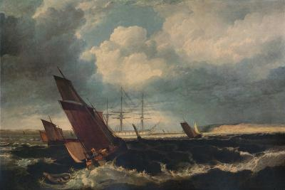 Guardship off the Nore, c1844-Clarkson Stanfield-Giclee Print