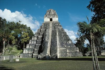 Guatemala, El Peten Department, Tikal National Park, Temple I--Giclee Print