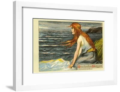 Gudrun from Gotterdammerung--Framed Art Print