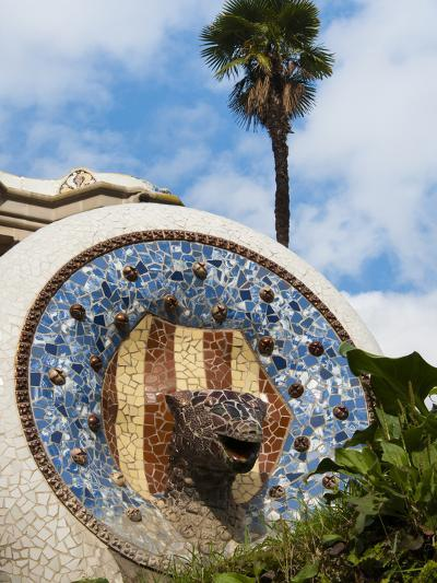 Guell Park (Parc Guell), UNESCO World Heritage Site, Barcelona, Catalunya (Catalonia), Spain-Nico Tondini-Photographic Print
