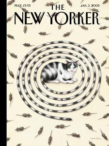 The New Yorker Cover - January 3, 2005 by Gürbüz Dogan Eksioglu