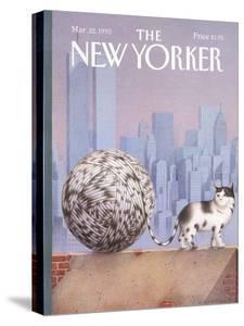 The New Yorker Cover - March 22, 1993 by Gürbüz Dogan Eksioglu