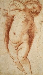 A Putto, 1620 - 1624 by Guercino