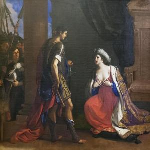 Cleopatra before Octavianus, 1640 by Guercino