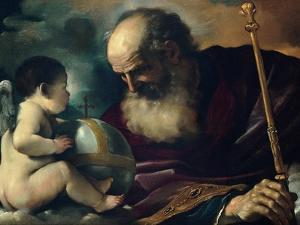 God the Father and Angel, 1620 by Guercino