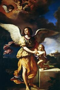 Guardian Angel, 1641 by Guercino