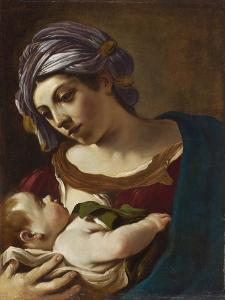 Madonna and Child by Guercino