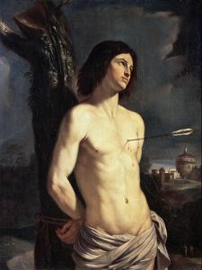 Saint Sebastian, 1642 by Guercino