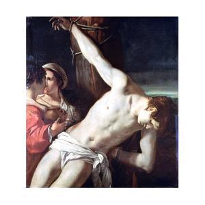 Saint Sebastian, C1611-1666 by Guercino