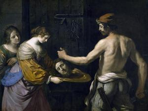 Salome Receiving Head of St. John the Baptist, 1637 by Guercino
