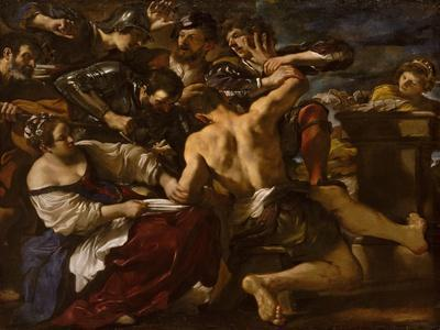 Samson Captured by the Philistines, 1619