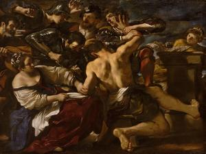 Samson Captured by the Philistines, 1619 by Guercino