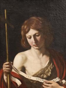St John the Baptist, 1645 by Guercino