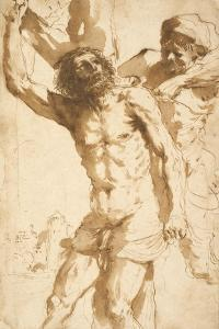 Study for the Martyrdom of Saint Bartholomew, 1635-36 by Guercino