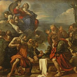 The Assumption of the Virgin, 1623 by Guercino
