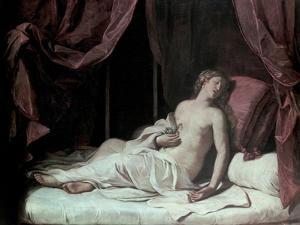 The Death of Cleopatra, 1648 by Guercino