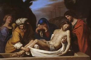 The Entombment, C.1656 by Guercino