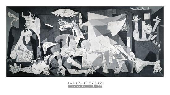 Guernica, 1937-Pablo Picasso-Art Print