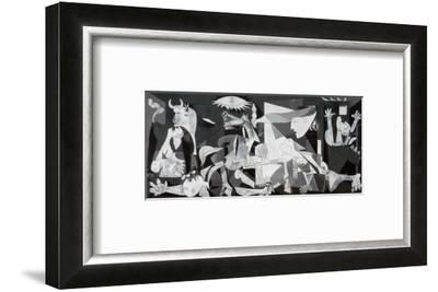 Guernica, c.1937-Pablo Picasso-Framed Art Print