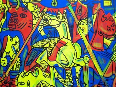 Guernica-Abstract Graffiti-Giclee Print