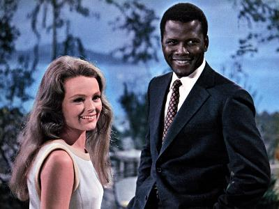 Guess Who's Coming To Dinner, Katharine Houghton, Sidney Poitier, 1967--Photo