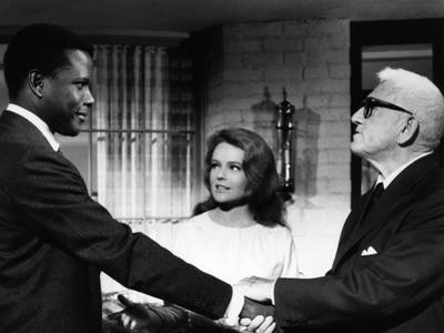 Guess Who's Coming To Dinner, Sidney Poitier, Katharine Houghton, Spencer Tracy, 1967