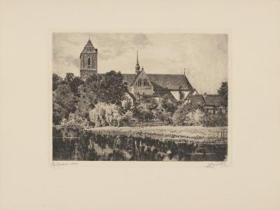Guestrow - Dom-Bruck-Collectable Print