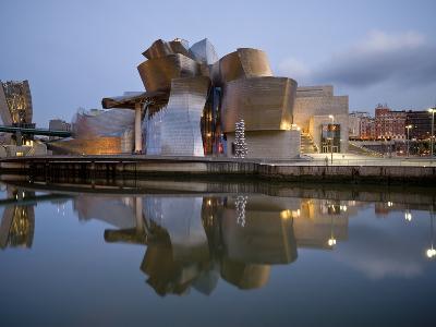 Guggenheim Museum, Bilbao, Euskal Herria, Euskadi, Spain, Europe-Ben Pipe-Photographic Print
