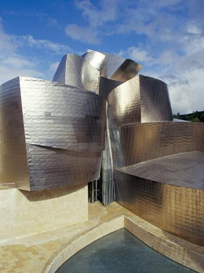 Guggenheim Museum, Designed by American Architect Frank O. Gehry, Opened 1997, Bilbao-Christopher Rennie-Photographic Print